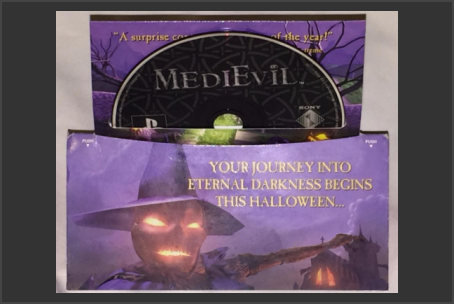 MediEvil Demo Disc USA With Display