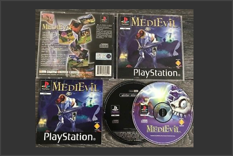 MediEvil PAL With Demo Disc