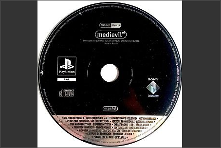 MediEvil Promo Disc PAL