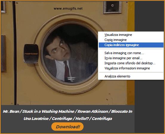 copia indirizzo immagine desktop