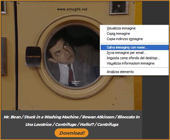 salva immagine con nome desktop