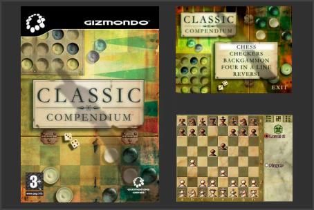 Classic Compendium Gizmondo Game