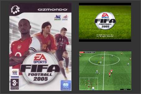 FIFA Football 2005 Gizmondo Game