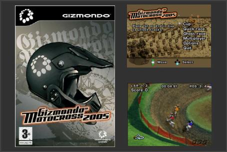Gizmondo Motocross 2005 Gizmondo Game