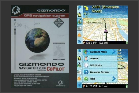 Gizmondo Navigator 2006 CoPilot Gizmondo GPS Navigation System