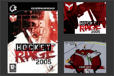 Hockey Rage 2005 Gizmondo Game