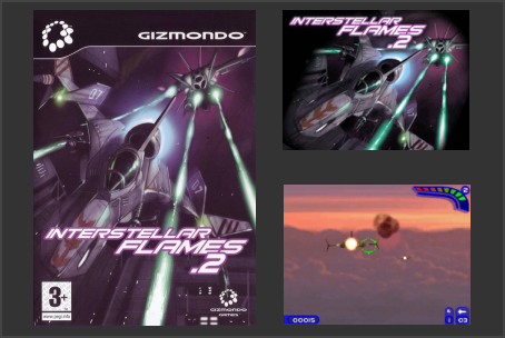 Interstellar Flames Gizmondo Game