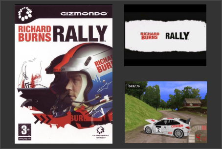 Richard Burns Rally Gizmondo Game