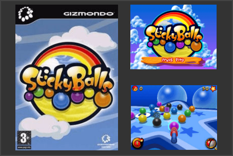 Sticky Balls Gizmondo Game