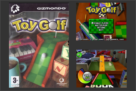 Toy Golf Gizmondo Game