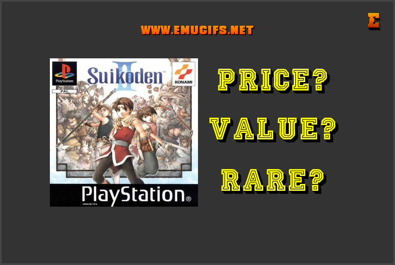 Suikoden II Banner Value Price Rare Emugifs